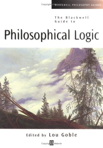 Blackwell Guide to Philosophical Logic