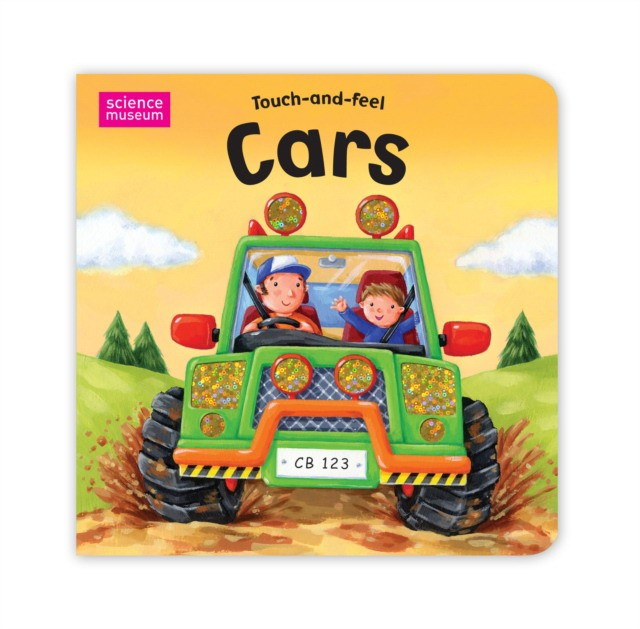 Science Museum Touch-And-Feel Books: Cars