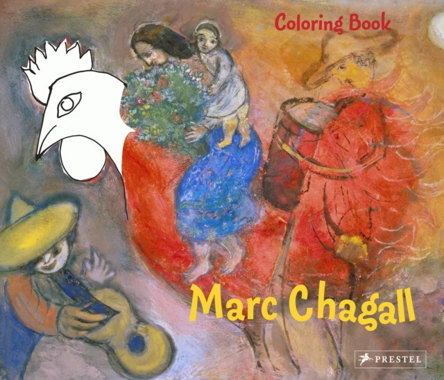 Coloring Book: Chagall