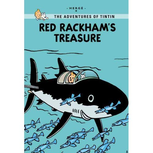 Tintin young readers edition: red rackham`s treasure