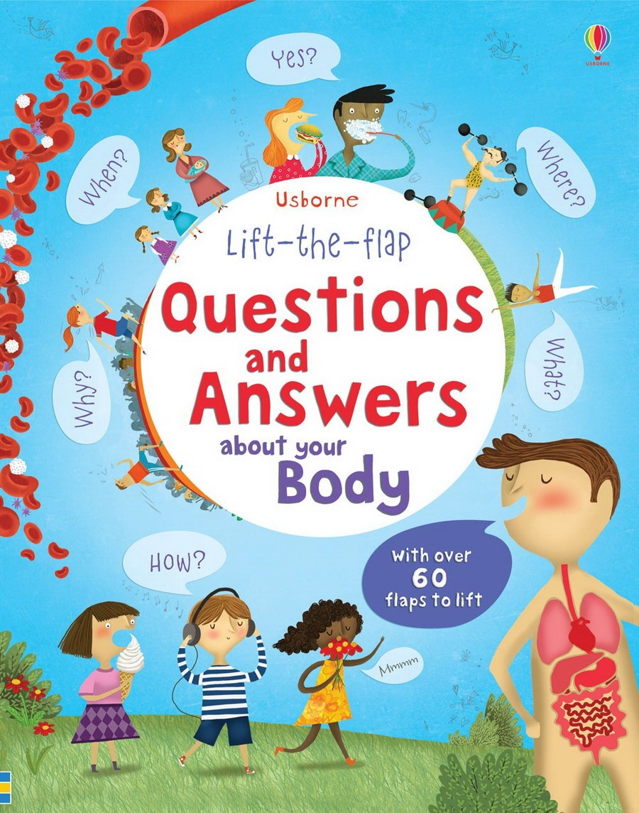Lift the Flap Questions & Answers Body 9781409562108