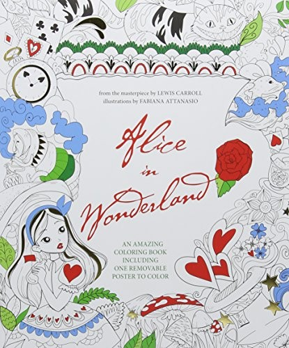Alice In Wonderland - Colouring