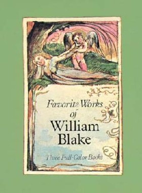 Favorite Works of William Blake: Three Full-Color Books